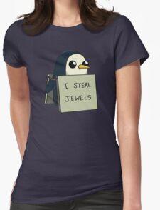 Adventure Time Gunter Womens Fitted T-Shirt