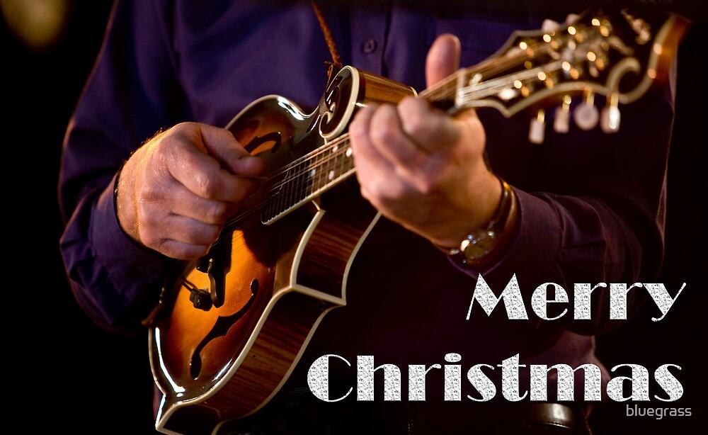F5 Mandolin Christmas Card 0001 by bluegrass