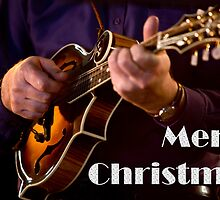 F5 Mandolin Christmas Card 0001 by bluegrass