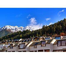 Mountain Homes Photographic Print