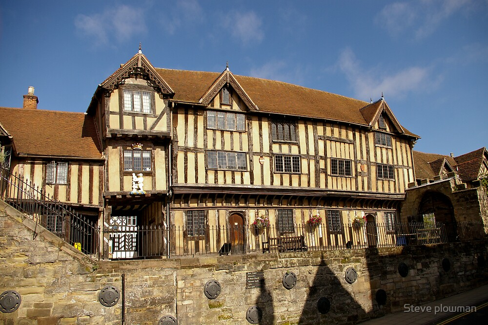 Lord Leycester hospital 2 by Steve plowman