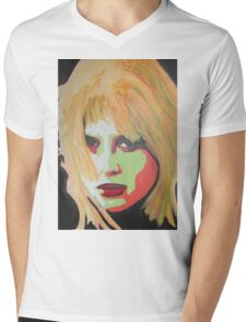 Portrait of an angry woman Mens V-Neck T-Shirt