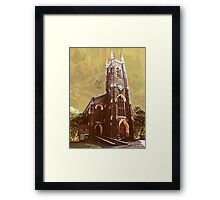 St Nicholas Church, Tooting, SW17, London Framed Print