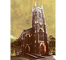 St Nicholas Church, Tooting, SW17, London Photographic Print