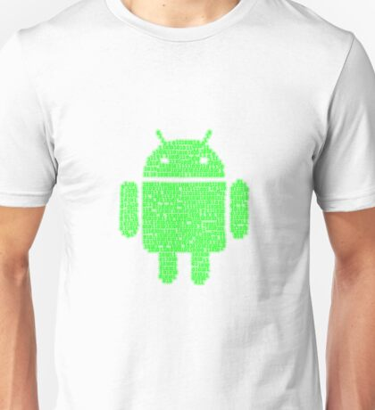 Binary-droidv2.0 Unisex T-Shirt