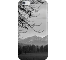 Autumn View of the Alps iPhone Case/Skin