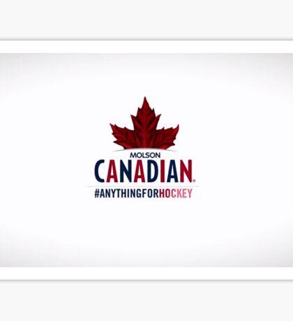 Molson Canadian Sticker Sticker