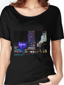 Lit up for the G20 meeting in Brisbane Women's Relaxed Fit T-Shirt