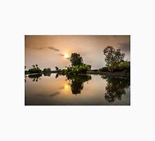 Yellow Water Sunset Reflections Unisex T-Shirt