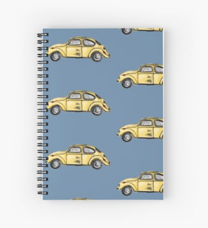 Emma's beetle car (Once Upon A Time) Spiral Notebook