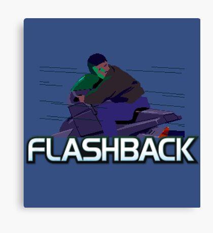 FLASHBACK - CLASSIC PC GAME (1992) Canvas Print