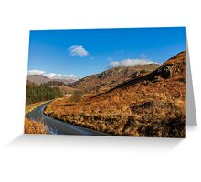 Duddon Valley Road Greeting Card