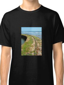 Old Tracks By The Ocean Classic T-Shirt