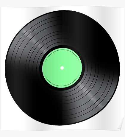 Music Record Poster