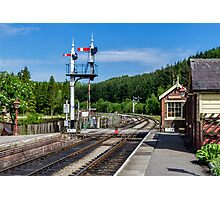 Levisham Station Photographic Print