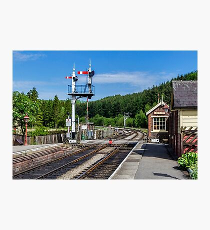 Levisham Station Photographic Print