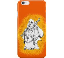 Buddha On His Way  iPhone Case/Skin