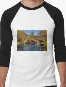 Packhorse Bridge River Duddon Men's Baseball ¾ T-Shirt