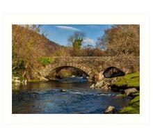 Packhorse Bridge River Duddon Art Print