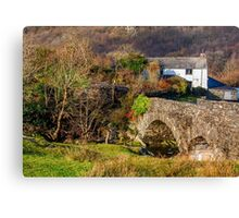 River Cottage Canvas Print