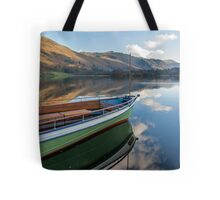 Sailing on Ullswater Tote Bag