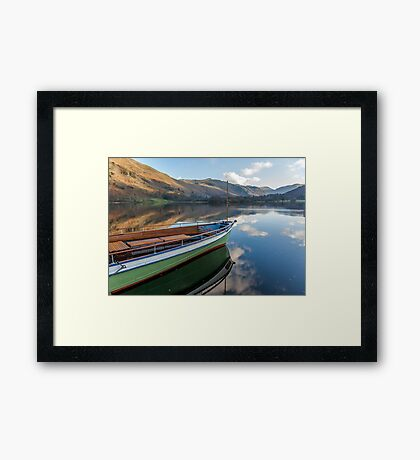 Sailing on Ullswater Framed Print