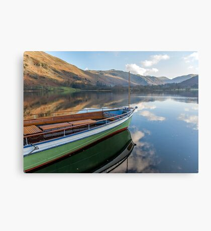 Sailing on Ullswater Metal Print