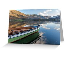 Sailing on Ullswater Greeting Card