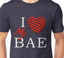 I Love (Heart) My Bae Unisex T-Shirt