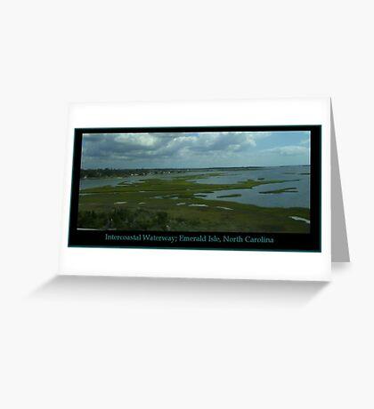 Intercoastal Waterway Greeting Card