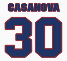 National baseball player Raul Casanova jersey 30 by imsport