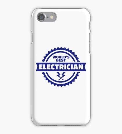 World's best electrician iPhone Case/Skin
