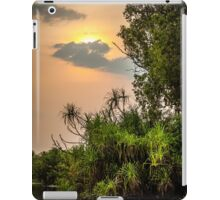 Yellow Water Sunset iPad Case/Skin