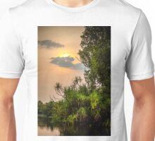 Yellow Water Sunset Unisex T-Shirt