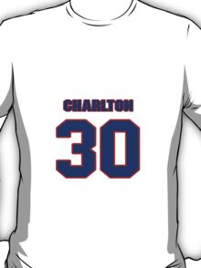 National baseball player Norm Charlton jersey 30 T-Shirt