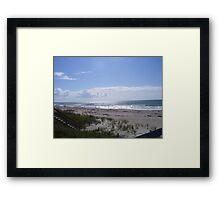 Splendid View on a Summer Day Framed Print