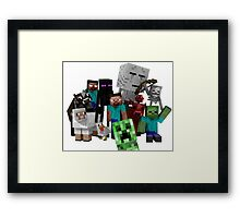 MineWorld6 Framed Print