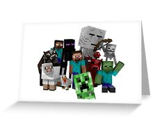 MineWorld6 Greeting Card