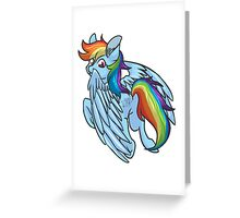 Dashing Greeting Card