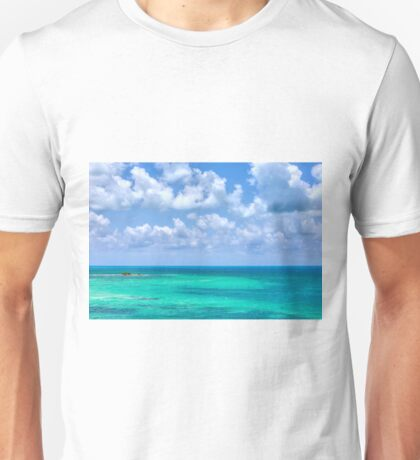 Colorful View from Bahia Honda Key  Unisex T-Shirt