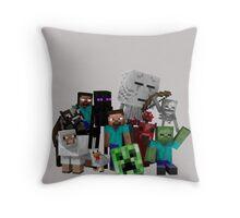 MineWorld6 Throw Pillow