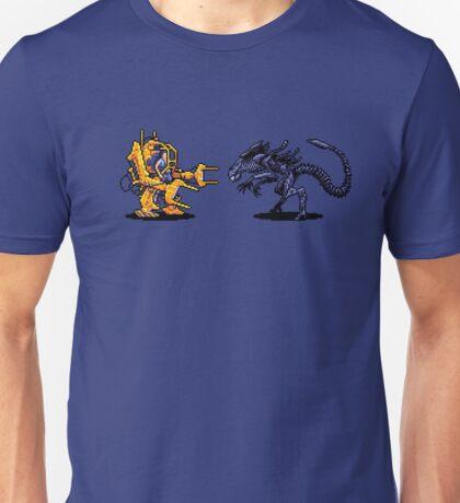 Power Load Vs Alien Queen  Unisex T-Shirt