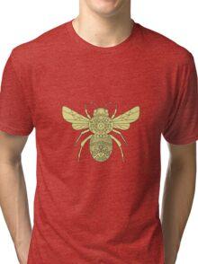 Bumble Bee Mandala Tri-blend T-Shirt