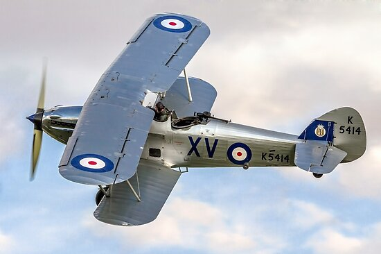 Hawker Hind K5414/XV G-BTVE by Colin Smedley
