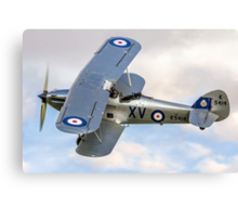 Hawker Hind K5414/XV G-BTVE Canvas Print