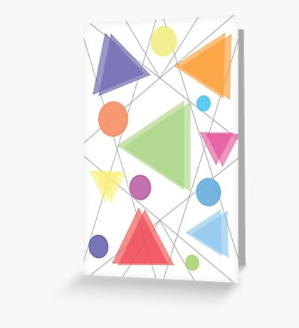 Geometry Style Greeting Card