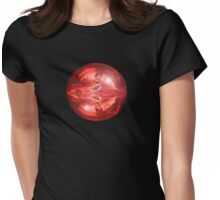 Bubble Girl T Womens Fitted T-Shirt