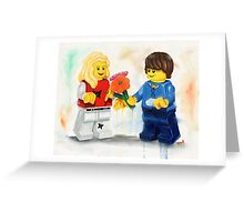 Young Love Greeting Card