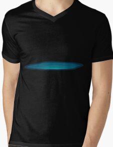 Glitch Ilmenskie Land lake topper 1b z1 Mens V-Neck T-Shirt