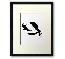Little Cute Bird Framed Print